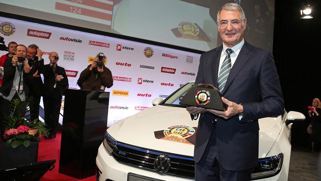 Volkswagen Passat Car of the Year 2015