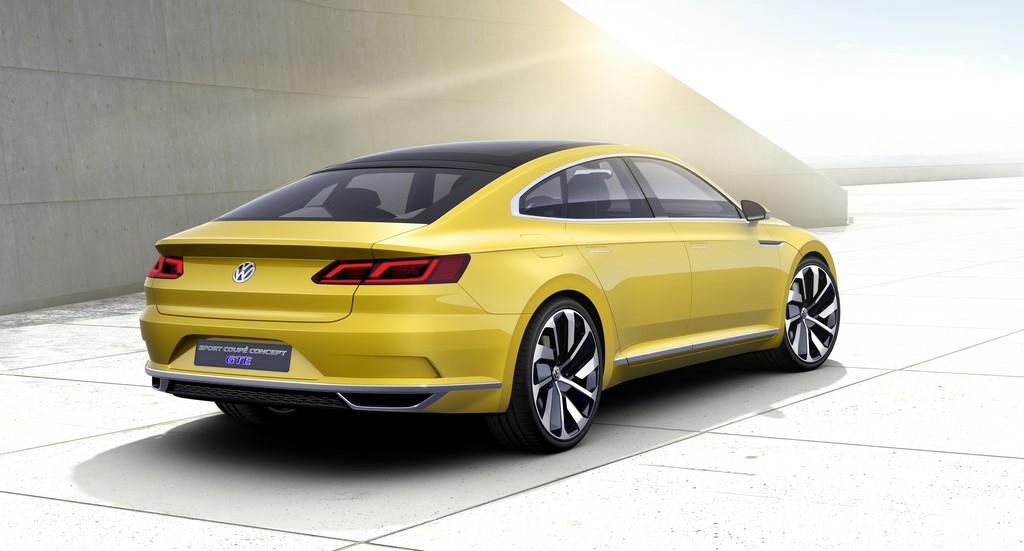 Volkswagen Sport Coupe Concept GTE 7