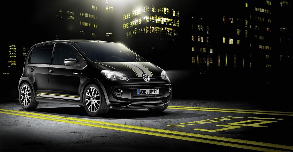 Volkswagen Street Up! frontal tres cuartos