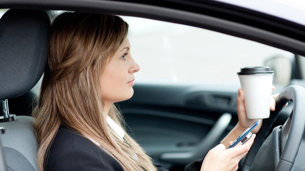 distraccion al volante