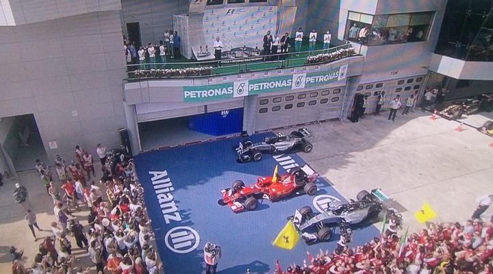 podio malasia 2015 formula 1