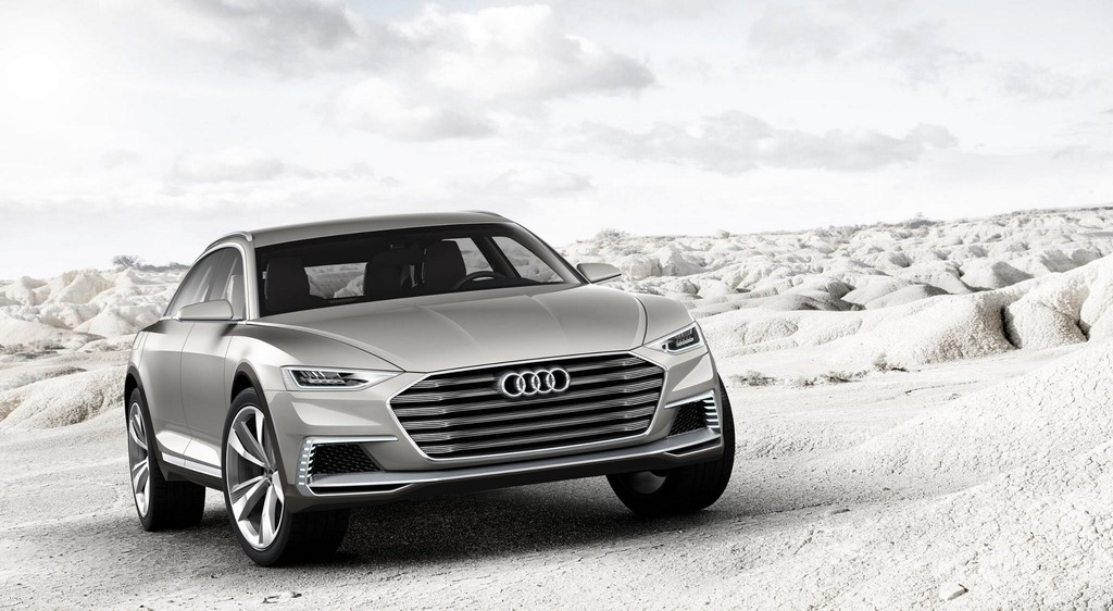 Audi prologue allroad frontal