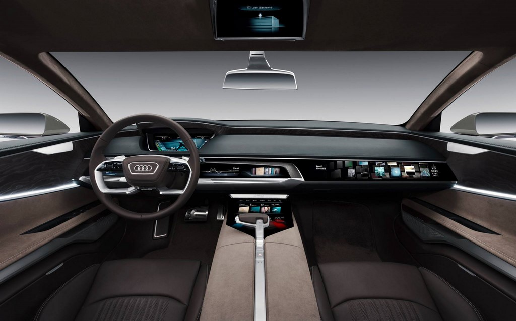 Audi prologue allroad interior