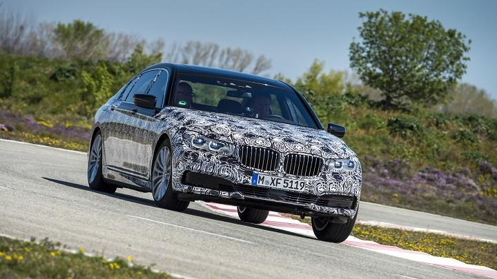 BMW Serie 7 2016 con camuflaje