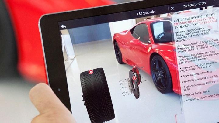 Ferrari realidad aumentada