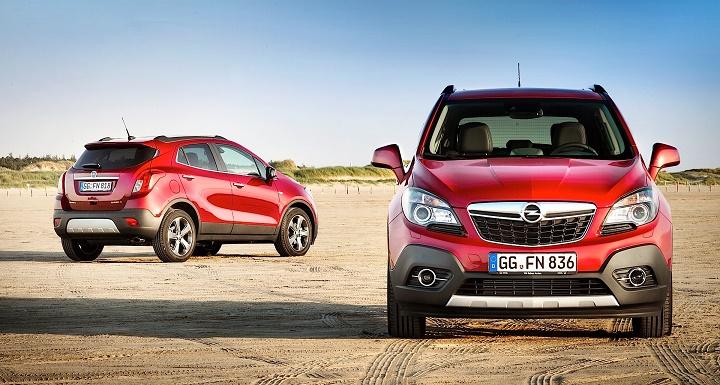 Opel Mokka rojo