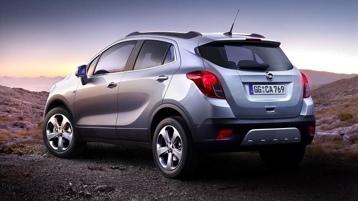Opel Mokka zaga