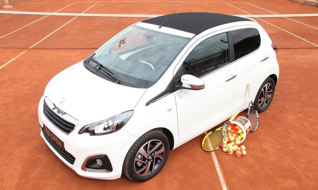 Peugeot 108 Open frontal tres cuartos