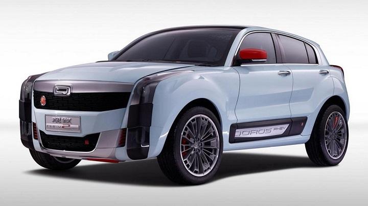 Qoros 2 SUV PHEV Concept 4
