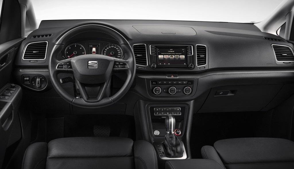 SEAT Alahmbra 2015 interior