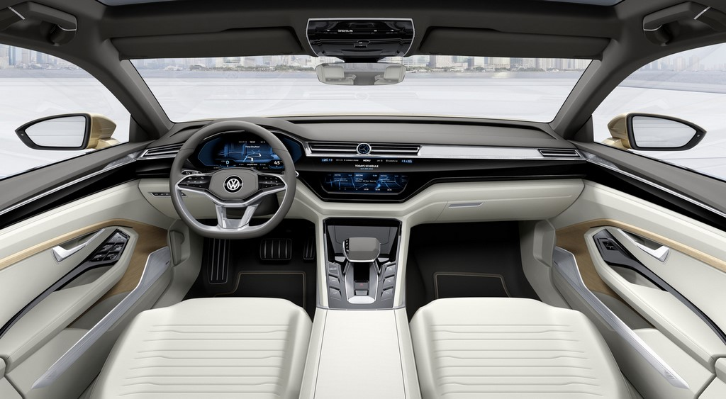 Volkswagen C Coupe GTE Concept 11