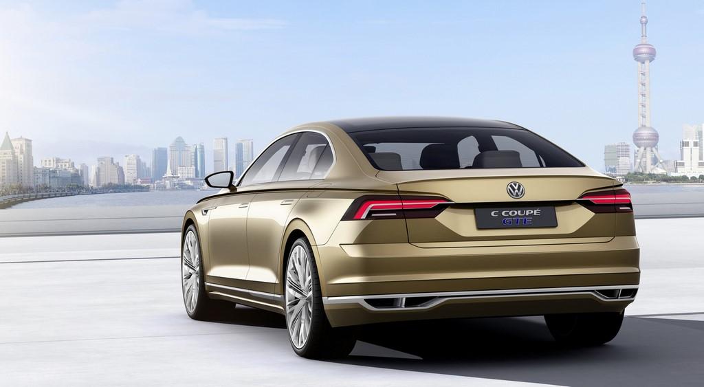 Volkswagen C Coupe GTE Concept 8