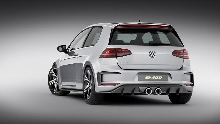 Volkswagen Golf R 400 zaga