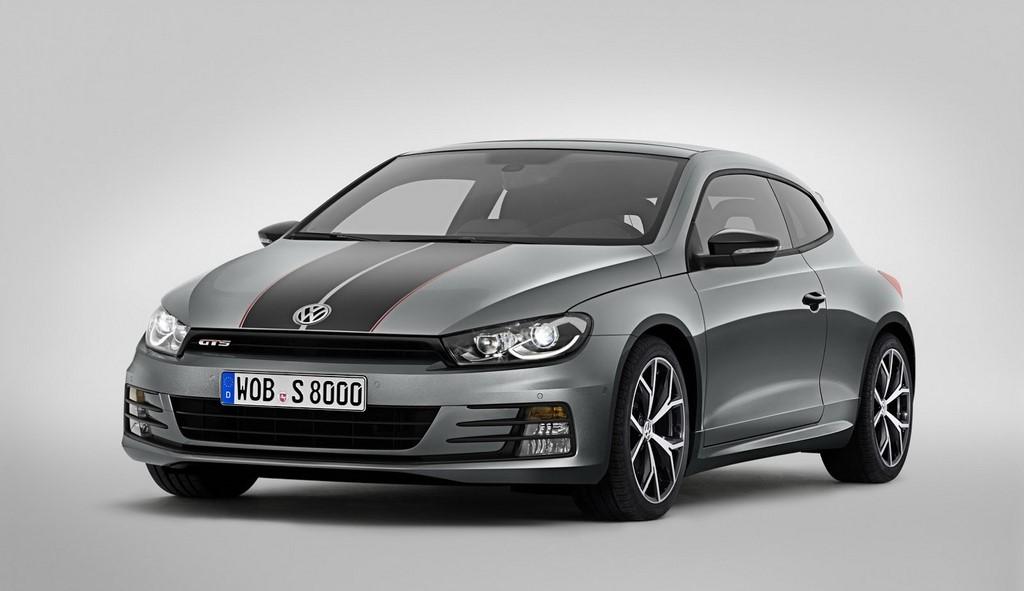 Volkswagen Scirocco GTS 2015 frontal tres cuartos