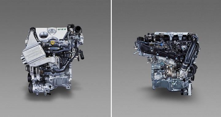 nuevo motor Toyota