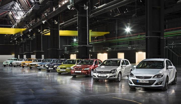 10 generaciones de Opel compactos