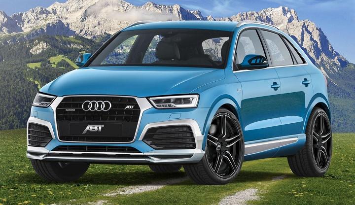 Audi Q3 por ABT frontal