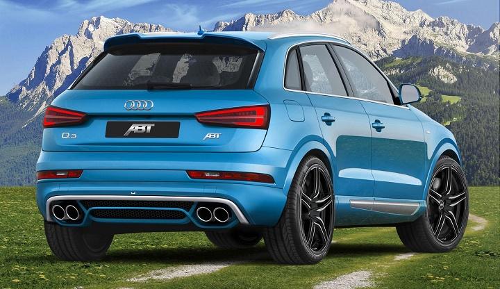 Audi Q3 por ABT zaga