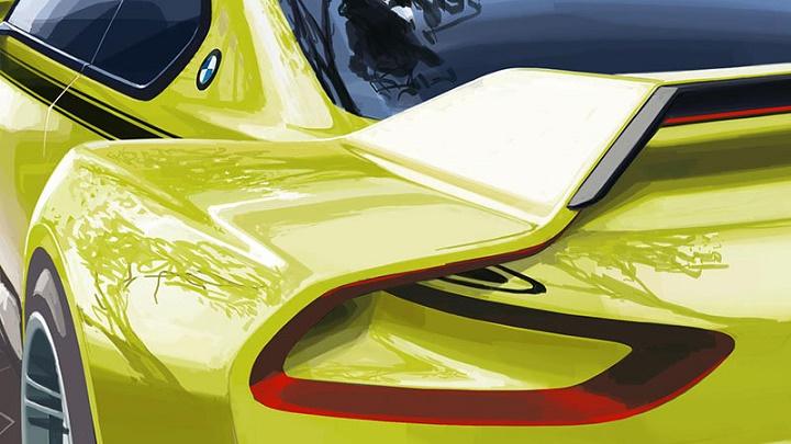 BMW 30 CSL Hommage Concept