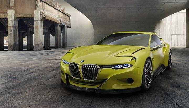BMW 30 CSL frontal