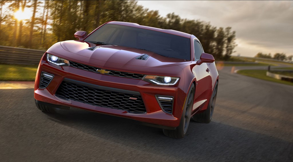 Chevrolet Camaro 2016 frontal 2