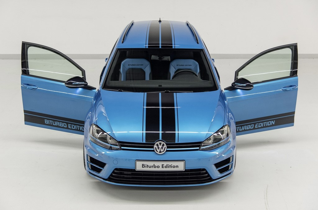 Volkswagen Golf Variant Biturbo 6