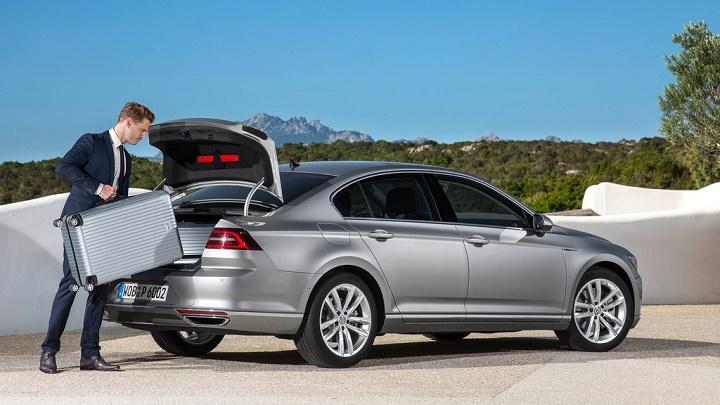 Volkswagen Passat maletero