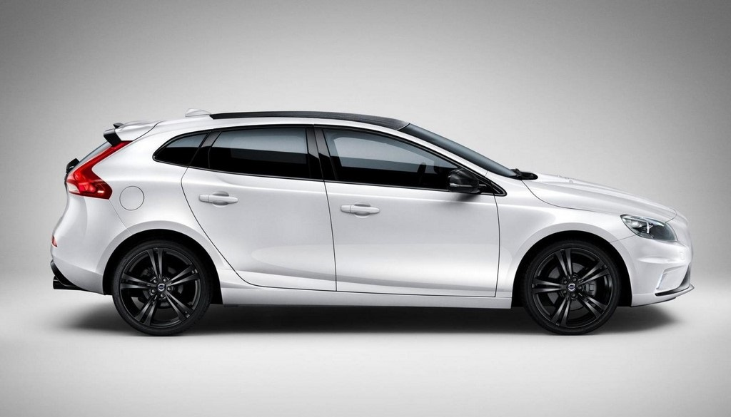 Volvo V40 Carbon Edition lateral