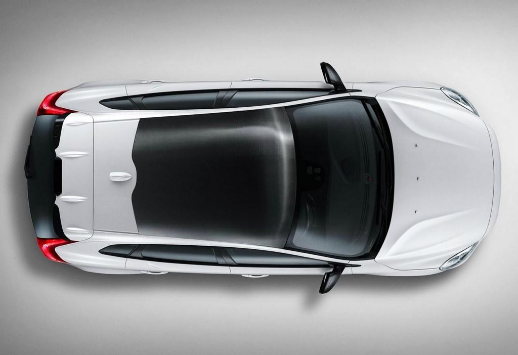 Volvo V40 Carbon Edition techo