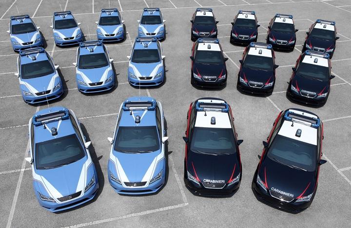 SEAT León para la policía italiana