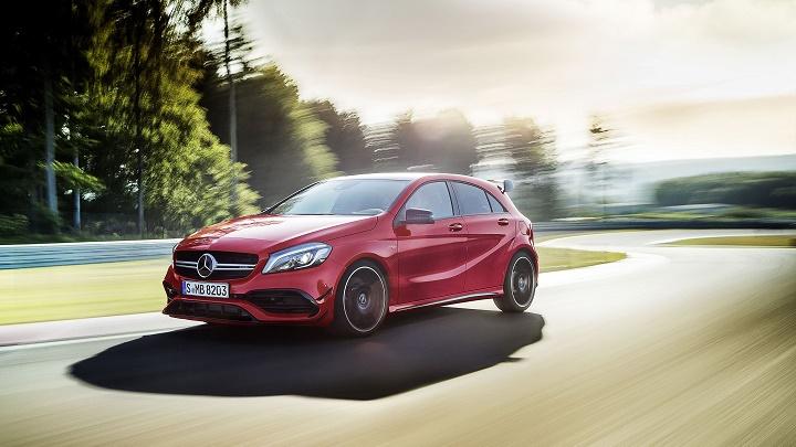 Mercedes-Benz Clase A 2016 rojo