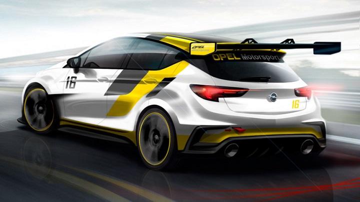 Opel Astra TCR zaga