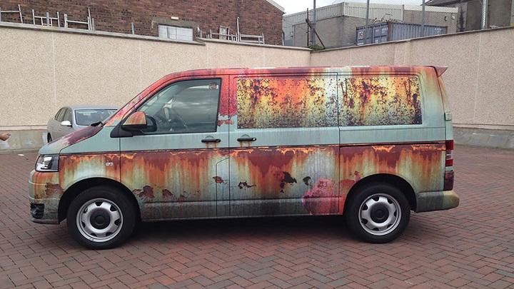 furgoneta camuflada contra los ladrones 2