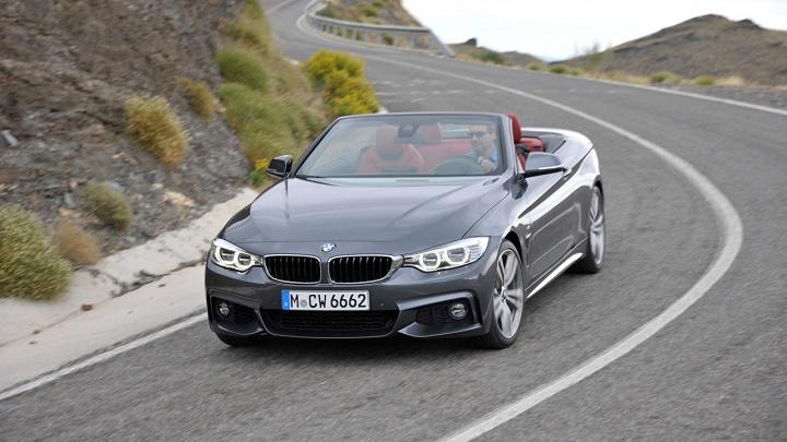 BMW Serie 4 Cabrio frontal