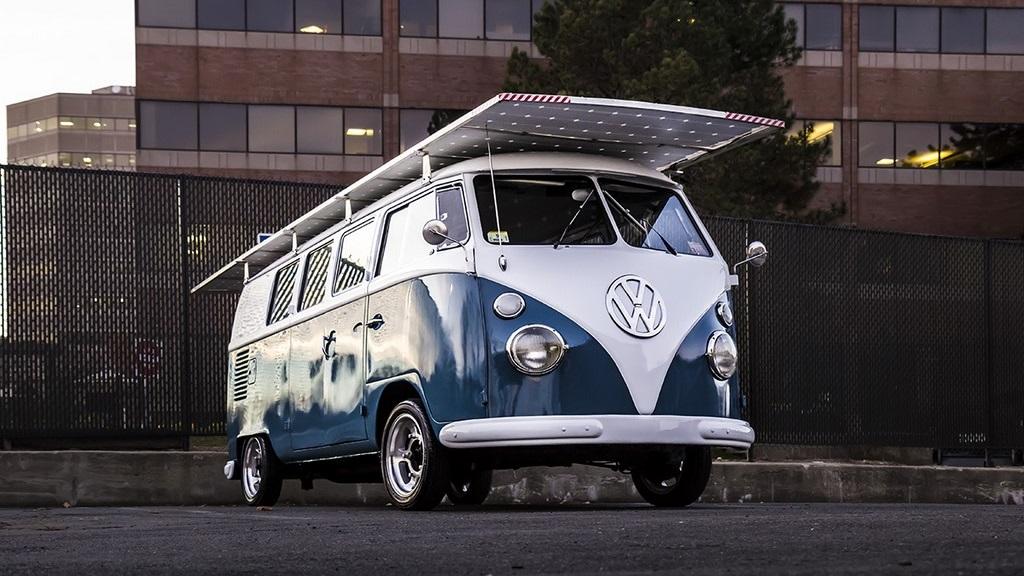 Volkswagen Bus solar 1