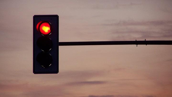 semaforo en rojo