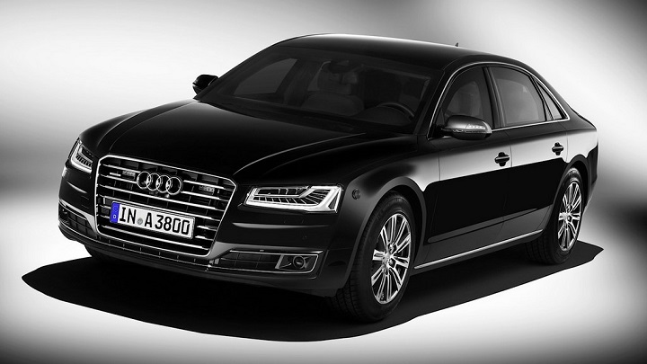 Audi A8 L Security frontal
