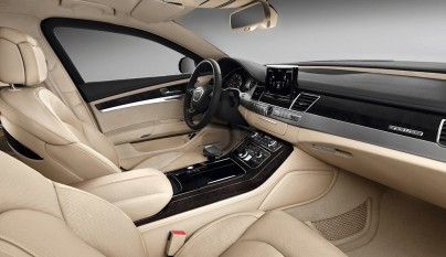 Audi A8 L Security interior
