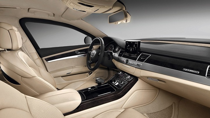 Audi A8 L Security interior
