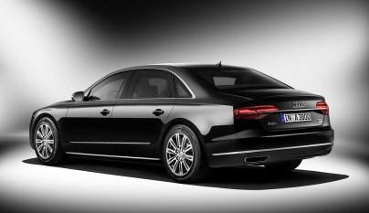 Audi A8 L Security zaga tres cuartos