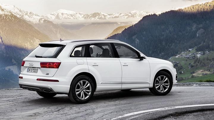Audi Q7 TDI blanco