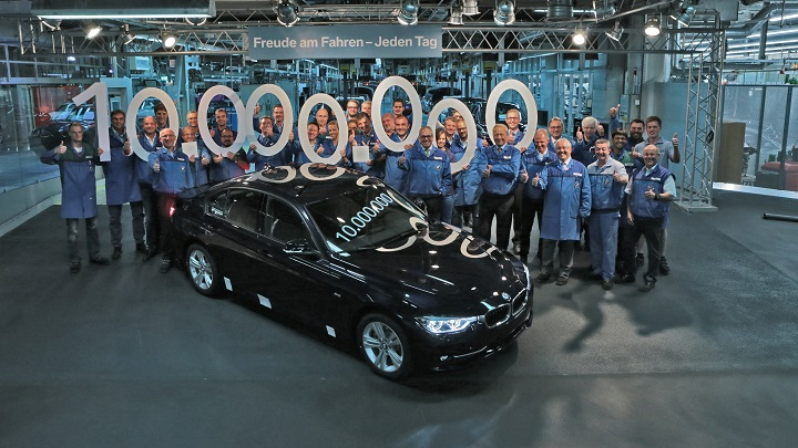 BMW Serie 3 10 millones