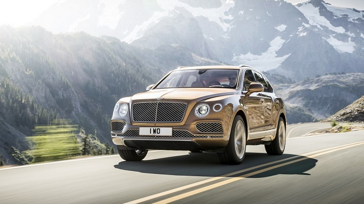 Bentley Bentayga 13