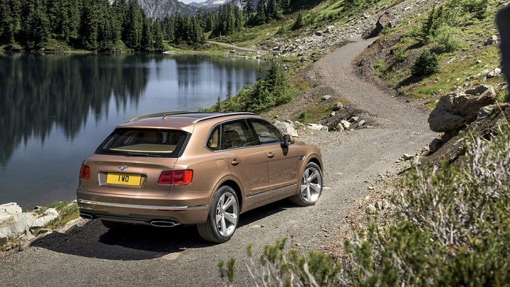 Bentley Bentayga 25