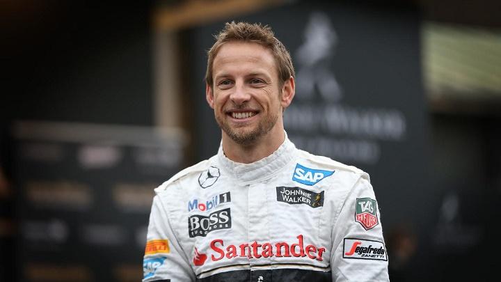 Jenson Button Mercedes