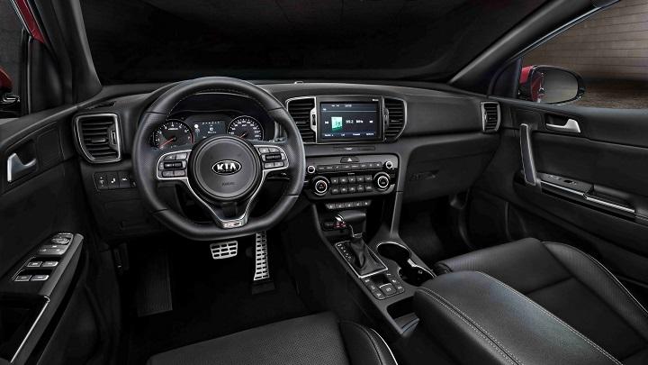 Kia Sportage 2015 interior 1