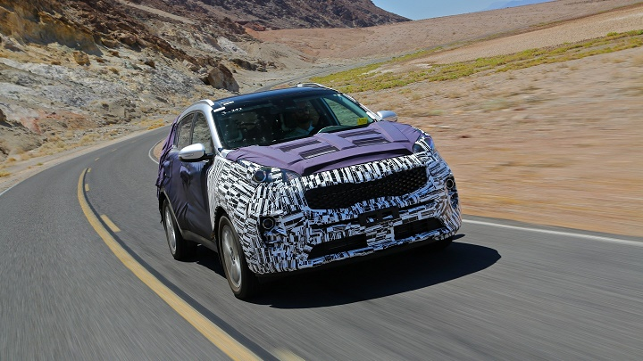 Kia Sportage 2016 en Death Valley 1
