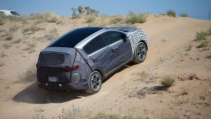 Kia Sportage 2016 en Death Valley 2