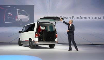 Multivan Panamericana Concept presentacion