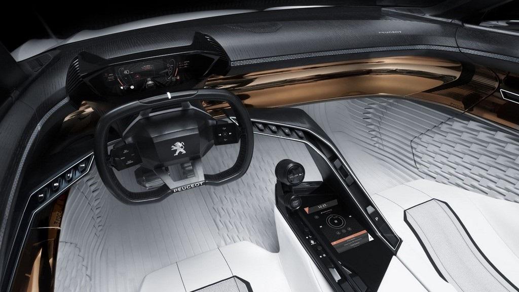 Peugeot Fractal i-Cockpit 5